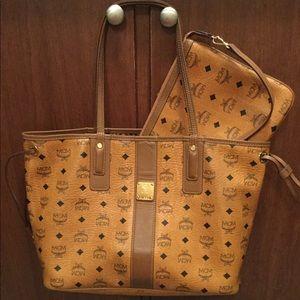 Authentic MCM Liz tote bag